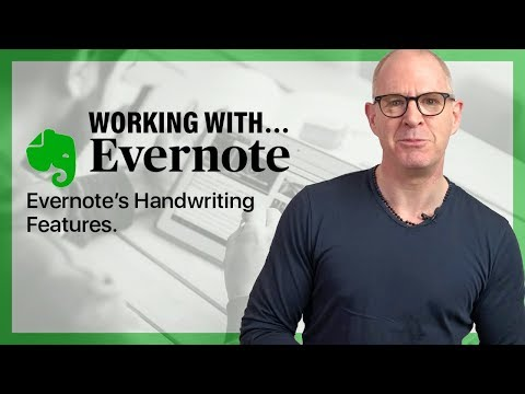 A Review Of  Evernote's Handwriting Options