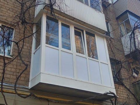 Французский балкон в Днепре