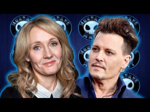 Fans blast J.K. Rowling after blocking fan on twitter over Johnny Depp