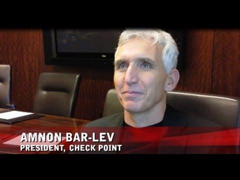 CRN Interviews Amnon Bar-Lev   Network Security