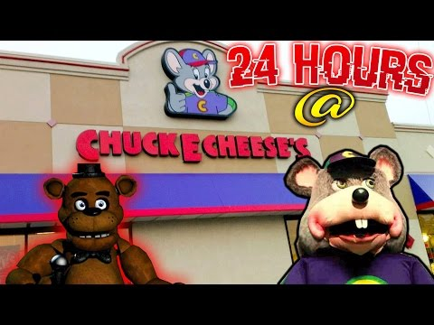 24 HOUR OVERNIGHT in CHUCK E CHEESE (REAL) FIVE NIGHTS AT FREDDIES FREDDY FAZBEAR thumbnail