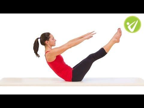 Teaser Pilates Exercise Monica Wilson