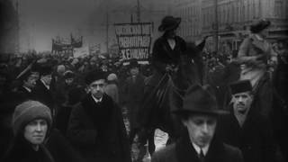 Russian Women's March that triggered the 1917 Revolution