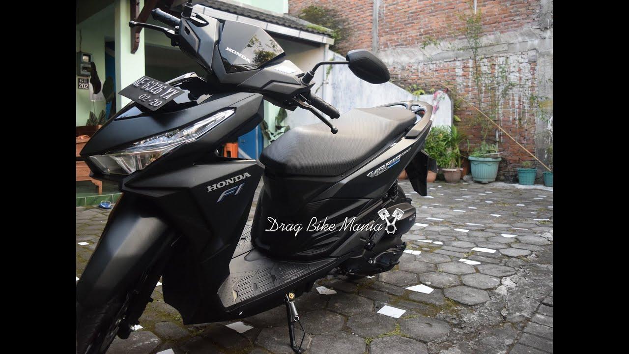 Modifikasi Vario 150 Esp Black Galeri Motor Vario