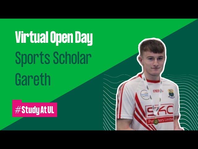 VLOG: Sports Scholarship athlete Gareth