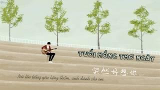 [Lyrics]- Tuổi Hồng Thơ Ngây - Đồng Hoàng Sơn Guitar Cover
