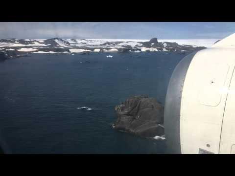 King George island landing!