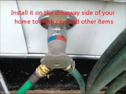 Chicago Home inspection Shows Hot Water Hose Bib | (773) 382-8492 | CALL US! : water hose bib - www.happyfamilyinstitute.com