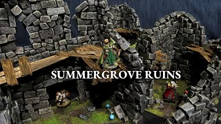Summergrove Ruins - VIBRANT Modular Ruins for D&D, Wargaming