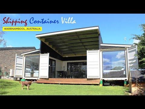 Shipping Container Villa in Warrnambool, Victoria, Australia