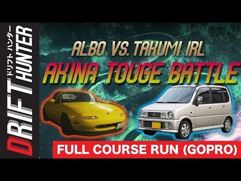 I Battled The Real Life Takumi Fujiwara on AKINA for WiFi (GOPRO VIEW)