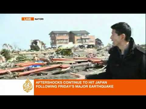 Al Jazeera Steve Chow reports from Natori, Japan