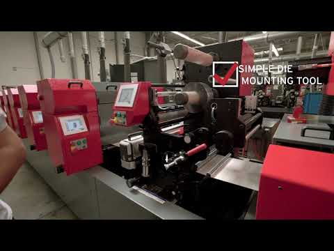 Semi Rotary Hot Foil Stamping Unit, By Codimag