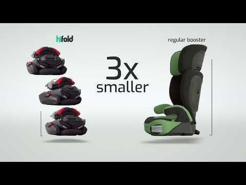 Hifold от Mifold - детские автомобильное кресло нового поколения