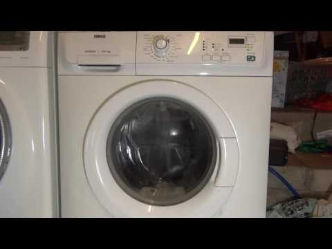 Zanussi Jet System ZWF14380 : Cotton 60'c Super Quick (Full cycle)