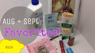 AUGUST + SEPT FAVORITES | Hada Labo, Origins, Head & Shoulder | effortless ruth Thumbnail