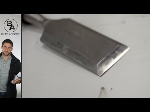 CHEAP and EFFECTIVE Technique for Sharpening Chisels Razor Sharp