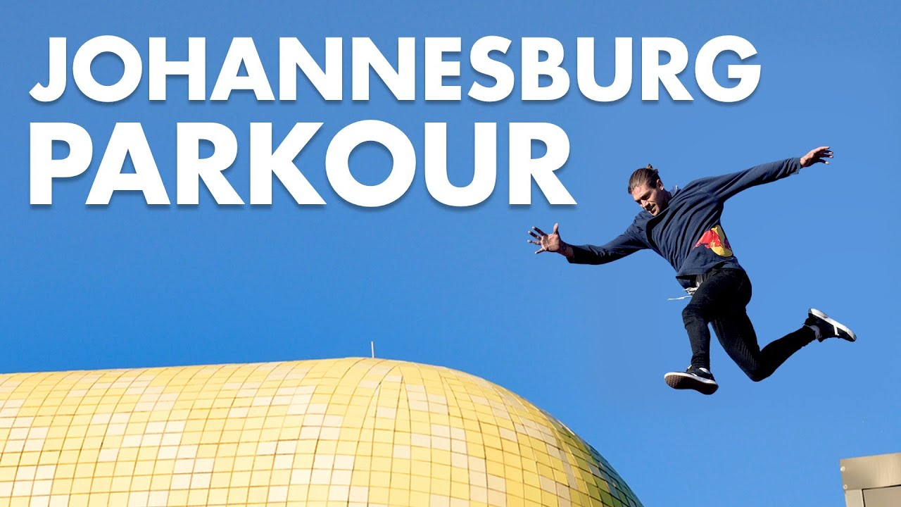 Johannesburg Parkour: Dom di Tommaso Plays The City Of Gold