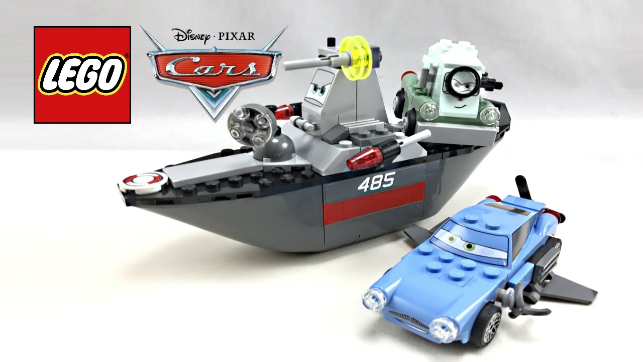 LEGO Cars Escape at Sea review! 2011 set 8426! - YouTube