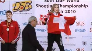 300m Rifle Prone Women - 2010 ISSF World Championship in all Shooting events in Munich