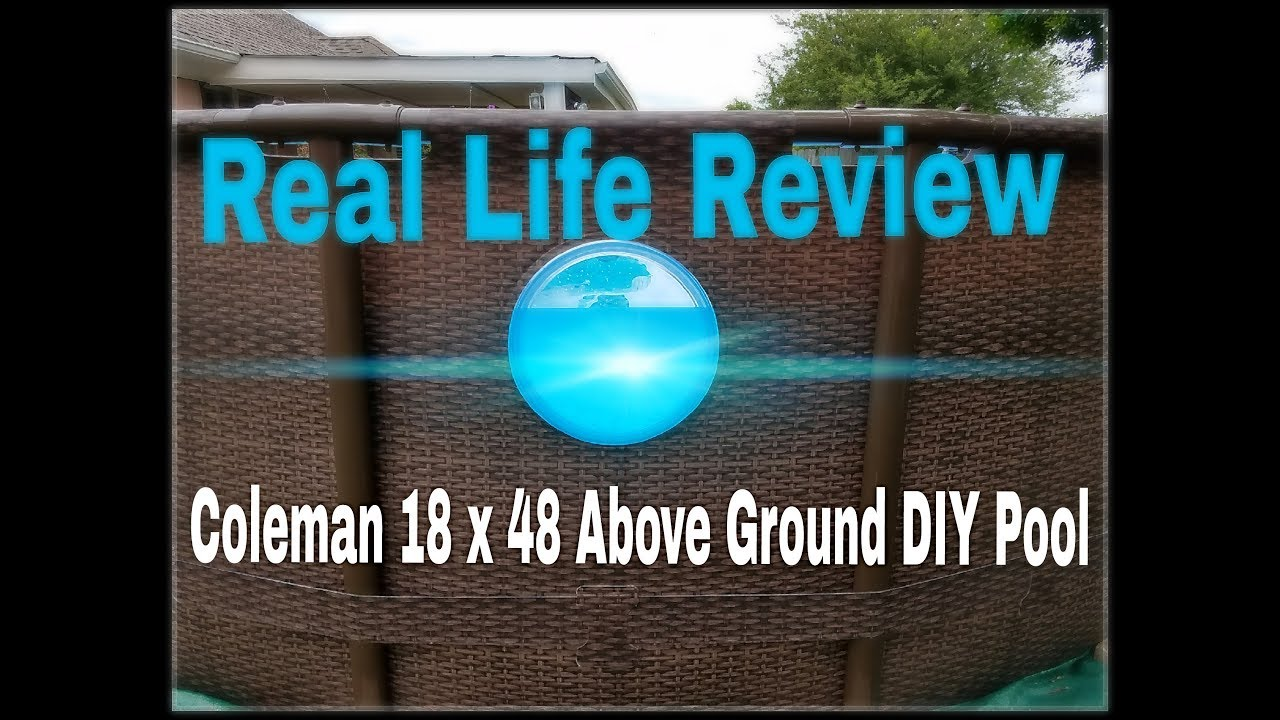 Intex Vs Bestway Review Real Review Coleman 18 X 48 Above Ground Pool Bestway Summer Waves And Intex