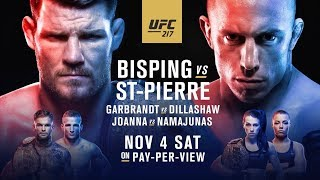 ТИТУЛЬНЫЕ БОИ UFC 217: Биспинг - Сент-Пьер; Гарбрандт - Диллашоу; Еджейчик - Намаюнас