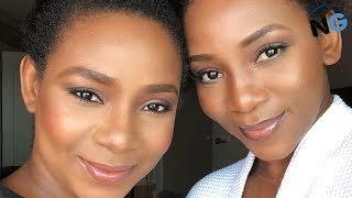 Meet Genevieve Nnaji39s 39Twin39 Sister