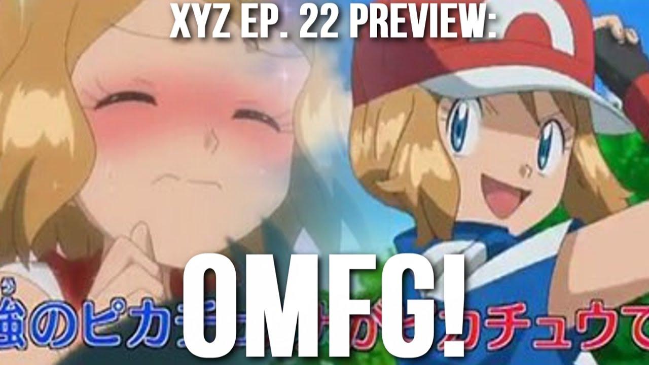 pokemon xy episode crossdressing amour reaction