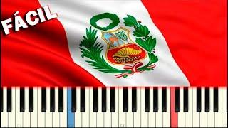 HIMNO NACIONAL DEL PERÚ / Piano Tutorial Facil / Partitura Gratis
