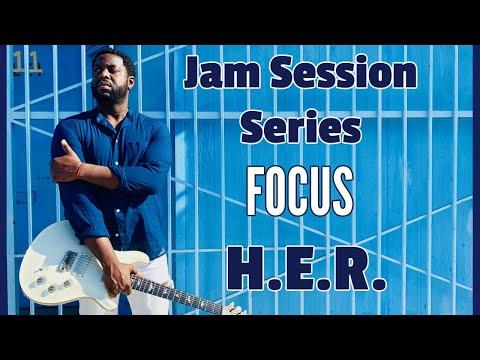 [R&B Guitar Lesson] Focus By H.E.R.