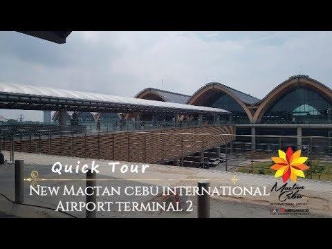 #NewMactanInternationalAirport (Travel Vlog) Quick Tour Of The New Mactan Cebu International Airport