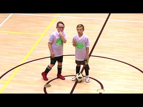 BEST FRIENDS Dominate At Soccer Game ⚽️ 5th & 6th Grade Indoor Soccer ⚽️ Tayden Dyches