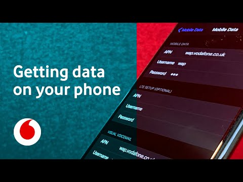 Getting Data On Your Phone | APN Settings | Vodafone Help | Vodafone UK