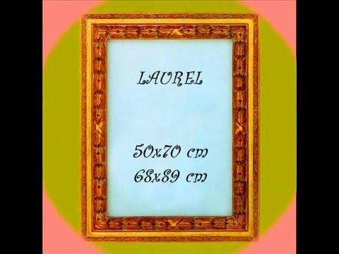 MARCOS para pinturas y espejos ARTE-DECORA 2 - YouTube
