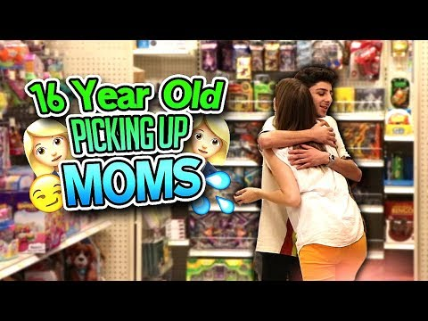 Thumbnail: 16 YEAR OLD TRIES TO PICK UP MOMS *it actually worked*