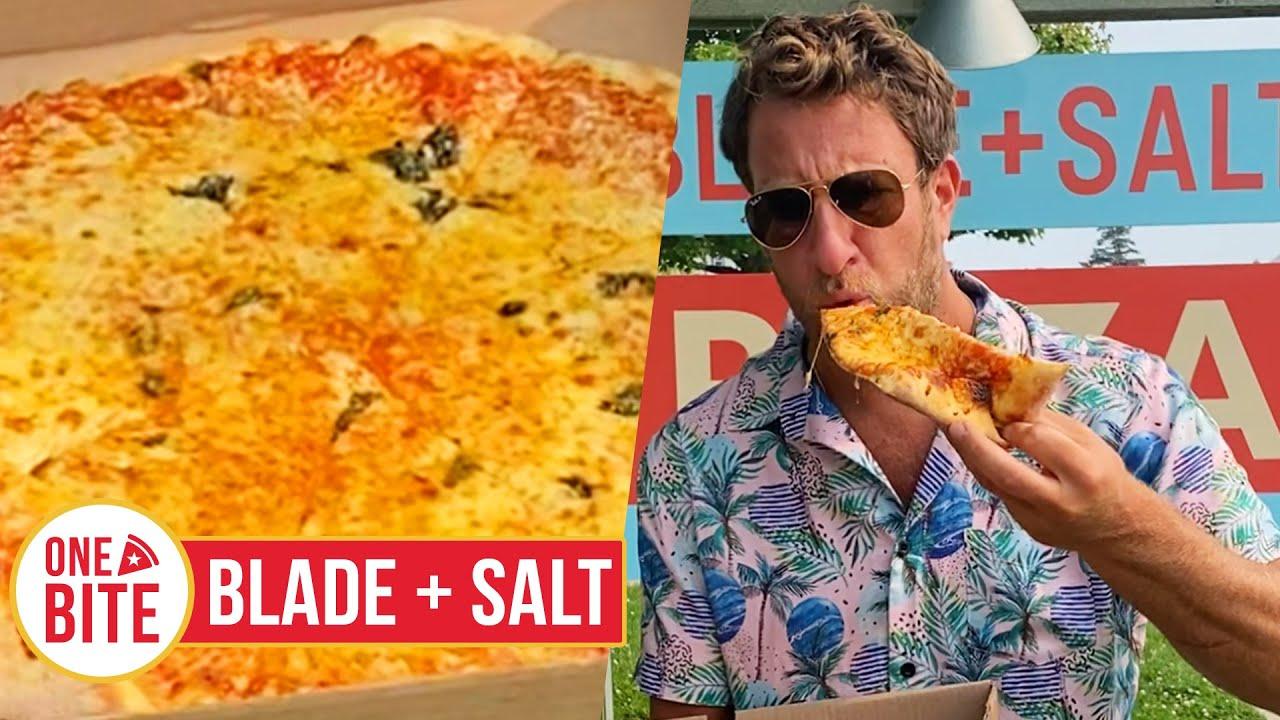 Barstool Pizza Review - Blade + Salt (Montauk, NY)