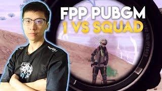 SOLO VS Squad FPP! CHICKEN DINNER TERANEH! - PUBG Mobile Indonesia