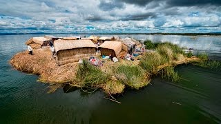 The Mysterious Floating Islands Of Lake Titicaca In Peru