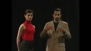 Аргентинское танго начальный уровень 1.