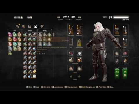 The Witcher 3: Blood and Wine (Poisoned Wolf build)