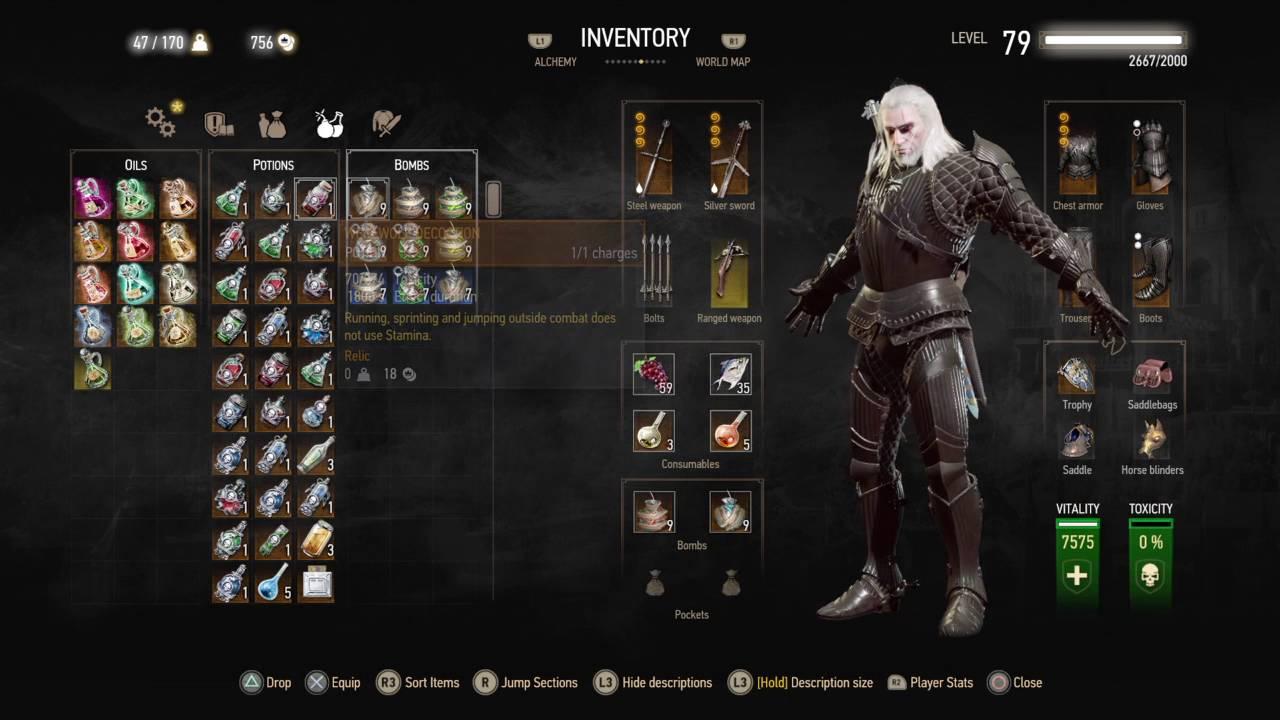 Witcher  Level  Build