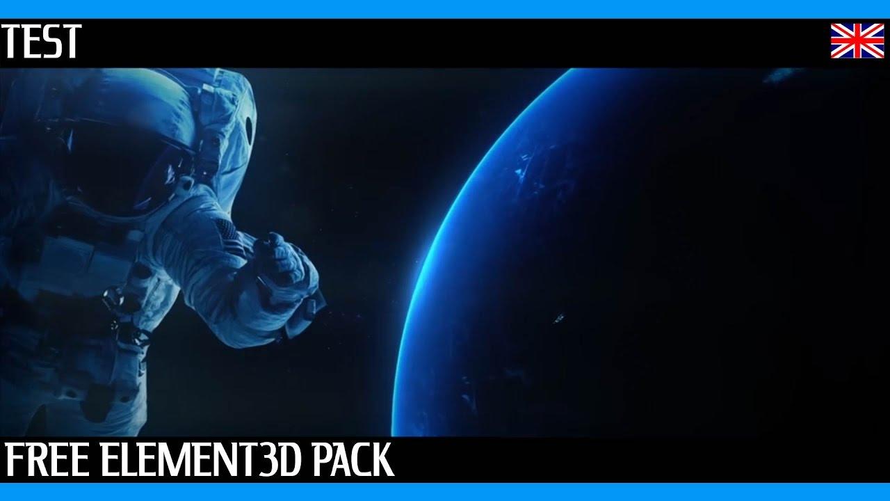 [EN] Cosmobox Bundle ! A free 3D space pack for Element 3D + Download Link