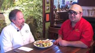 Fayetteville West Virginia Restaurants Tour: Eating Manly Salad With Oscar Of Diogi's