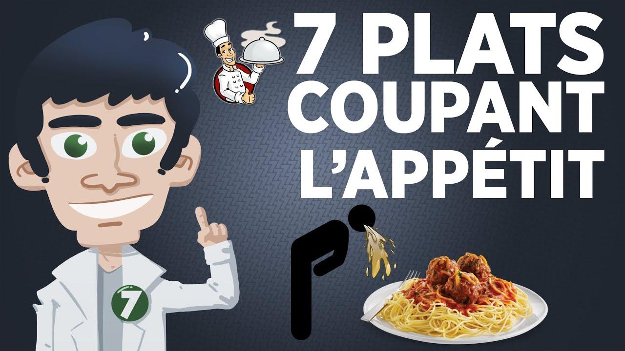 7 Plats Coupant l'Appétit