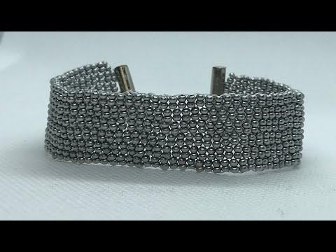 Peyote Stitch Bracelet Jewelry ( Double Peyote ) Peyote Bileklik ( İkili Peyote )