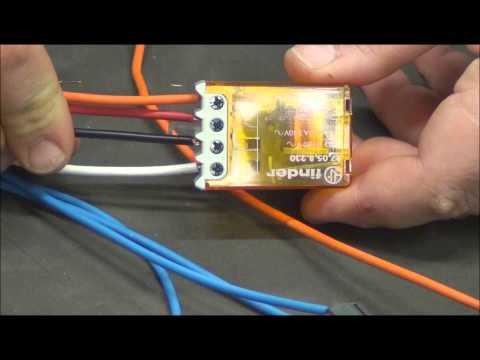 Schemi Elettrici Rele : Come si monta un relè commutatore pillola n.15 di materiale