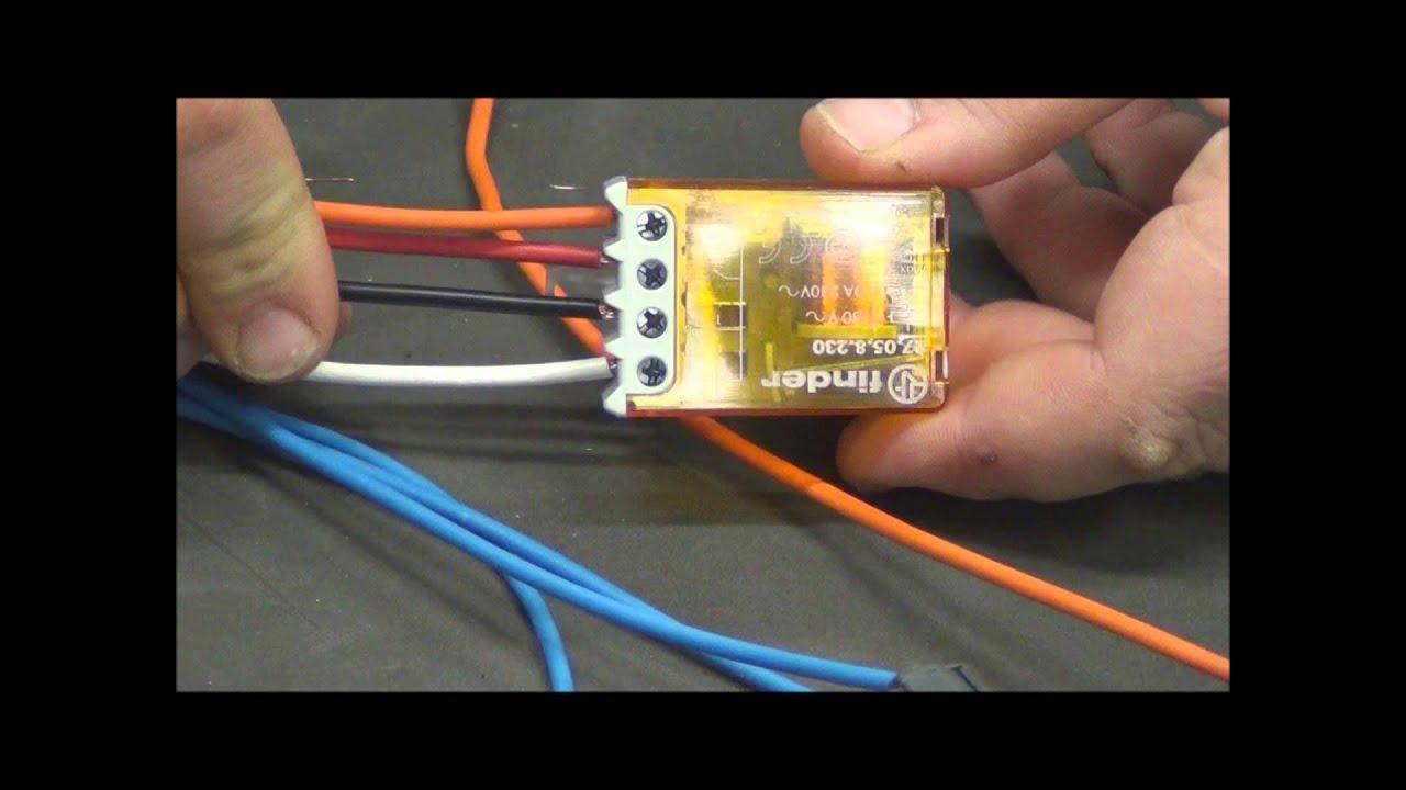 Schema Elettrico Per Collegare Un Relè : Come si monta un relè commutatore pillola n di materiale