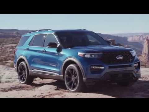 All-New Ford Explorer ST Design