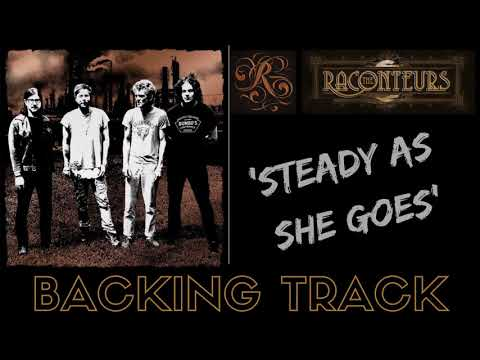 The Raconteurs - 'Steady As She Goes' - Backing Track (FULL) No Vocals