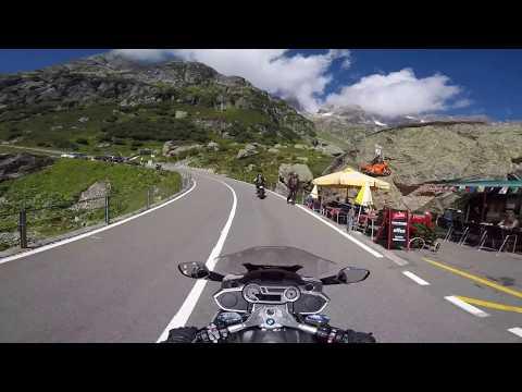 The Big Alps of Switzerland, BMW K 1600 GTL, GoPro, Dji Spark